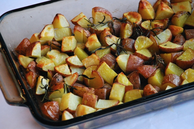 patate arrosto - oven roasted potatoes