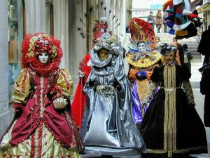 Costumes at Venice Carnival