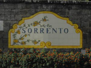Sorrento sign